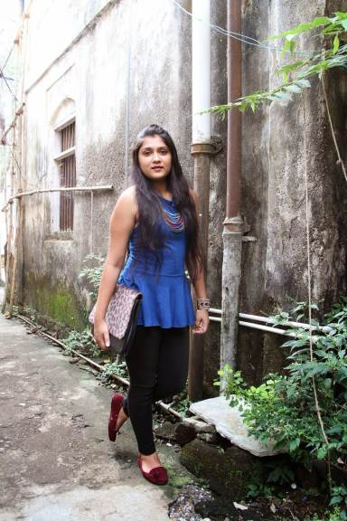 Roxanne - One of the best Fashion Bloggers in India